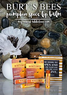 Burt's Bees Limited Edition #PumpkinSpice Lip Balm - My Newest Addiction #PSLB #ad