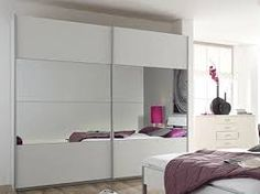 Image result for sliding wardrobe mirrored doors