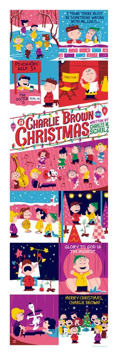 """A Charlie Brown Christmas"" Poster by Dave Perillo"