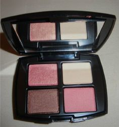 Lancome Color Design Sensational Effects Eyeshadow Quad Compact Latte, Kitten Heel, Fashion Admirer, Madison Avenue - New