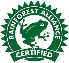 Bildergebnis für Rainforest alliance logo
