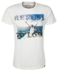 LEGACY - T-shirt con stampa - bianco