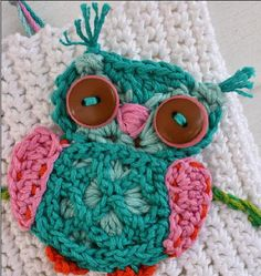The Cutest Little Crochet Owl