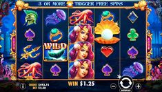 Dive under the ocean and explore the lost city of Atlantis in this 1024 ways to win free pokies by Pragmatic Play!