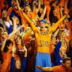 TONIGHT @BroncoSports faces off against @IdahoStateU - who we haven't played since 2008! Student Section is BLUE tonight. #GetLoud #GoBroncos!  Be there --> http://ift.tt/1hgOk7A