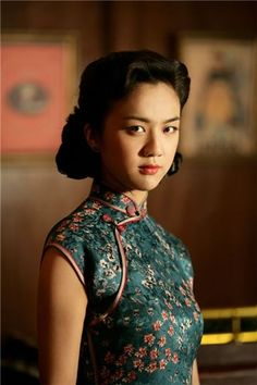 Movie: Lust Caution,  Tang Wei, Chinese Actress