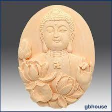 JM Buddha head silicone ceramics mold silicone vase planter mold food grade mold