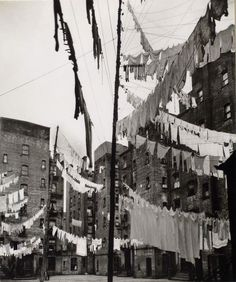72nd Street Tenements, New York c. 1936via The New York Public Library