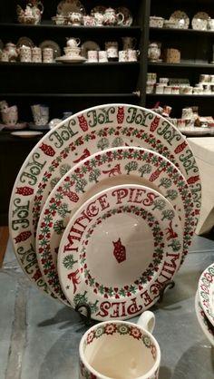 Emma Bridgewater, Christmas 2014 I LOVE THESE DISHES!!!