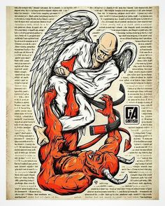 Awesome bjj artwork from . Judo, Karate, Jiu Jitsu Frases, Bjj Tattoo, Bjj Memes, Art Of Fighting, Ju Jitsu, Martial Arts Training, Desenho Tattoo