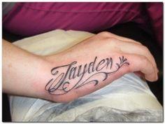 Hand Name Tattoo Ideas Zeeshan Love Loubna Tattoos Name Tattoos