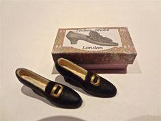 dollshuse miniature shoes in a box by Londondollshouses on Etsy, £11.00