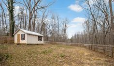 Great Updated Starter Home on 1 acre with Large Fenced in Yard! Fall in Love with the Beautiful Granite Countertops and Ceramic Tile Back Splash in Kitchen! Stainless Steel Appliances. Bathroom Updated! Front and Rear Decks! Shed in Back yard. Lovely Hardwood Floors!
