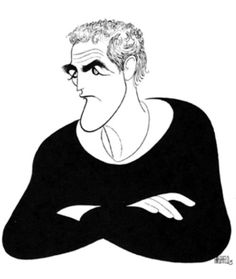 Paul Newman by Al Hirschfeld!