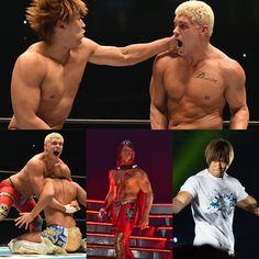 at Wrestle Kingdom 12 2018 Wrestle Kingdom, Kota Ibushi, Cody Rhodes, Sumo, Wrestling, Lucha Libre