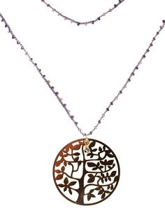 Blee Inara - Tree of Life Beaded Necklace