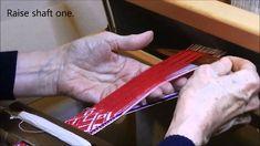 The Lielvārde belt: weaving motifs Inkle Weaving, Inkle Loom, Card Weaving, Tablet Weaving, Loom Knitting, Craft Tutorials, Blog, Cards, Tejidos