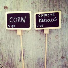 $2 Mini Chalkboard Signs from World Market | Rustic Charm #BBQ via @Uncensored Jane (Link: http://www.uncensoredjane.com/5/post/2013/08/rustic-charm-bbq.html )