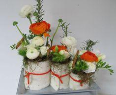 composition florale d 39 automne fleurs and co pinterest. Black Bedroom Furniture Sets. Home Design Ideas