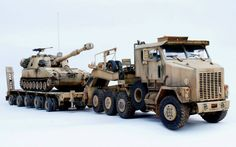 M1070 & M1000 HETS (Heavy Equipment Transport System)