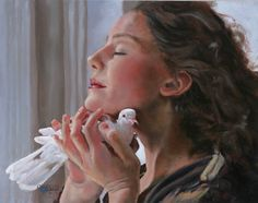 Sovereign Lord I Trust and Depend on Thee by Mary Jane Q Cross, Oil