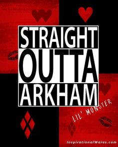 Straight Outta Arkham Harley Quinn image.