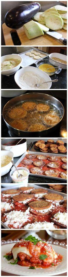 Italian Eggplant Parmesan Recipe