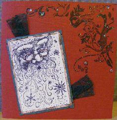 Karins-kortemakeri: Julekort 2008