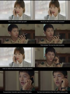 Descendants of the sun - first LDR phonecall (: