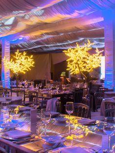 Decoración evento empresarial #Iluminación