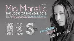 The Look Of The Year 2015 World Winner Mia Maretić Lice Godine Hrvatske 2015.