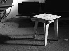 Crux Stool, Bram Oosterhuis www. Bar Stools, Furniture Design, Studio, Home Decor, Bar Stool Sports, Decoration Home, Room Decor, Counter Height Chairs, Studios