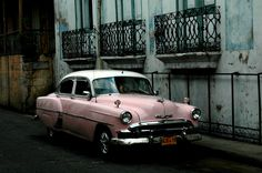 One of the many oldtimers in Cuba.