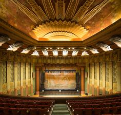 """cgmfindings: """" Art Deco Wiltern Theater Los Angeles (still exists) """""""