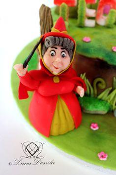 Fairy(Sleeping Beauty Cake)
