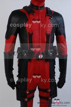Marvel Comics Deadpool Cosplay Costume
