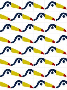 Birds (tiles) 2015 Ligia de Medeiros