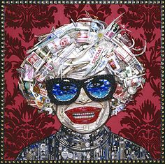 RS071 - Carol Channing by Jason Mecier (Junk Drawers Serie)