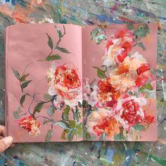 ____ what I love most: beautiful flowers in a . ____ was ich am meisten liebe: schöne blumen in einem kreativen sk …… Precious! ____ what I love most: beautiful flowers in a creative sk … – # - Art Inspo, Art Journal Inspiration, Art And Illustration, Art Illustrations, Painting & Drawing, Drawing Tips, Arte Sketchbook, Sketchbook Ideas, Sketchbook Project