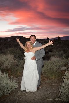 Wedding Sunset at Convict Lake