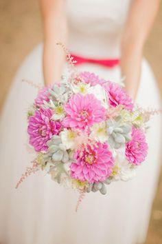 pink & succulents