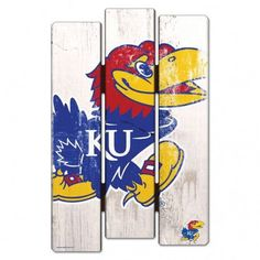 KU/3208509841/320850984122/_B_ Each wood fence sign is made of 3/8 hardboard and cut with dimension to give you the feel of a real fence. It has a routed hanging hole in the back. Many of the graphics