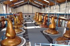 Speyside whisky distillery Scotland.