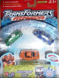 Transformers Armada Mini Cons Set 3 Backtrack Oval Spiral @ niftywarehouse.com