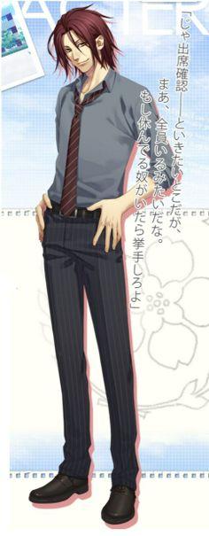 薄桜鬼 Hakuouki  Sano is just attractive