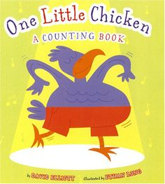 One Little Chicken: A Counting Book by David Elliott // read by Ms Shanna Math Literature, Math Books, Farm Animals For Kids, David Elliott, Welcome Songs, Toddler Storytime, Farm Animal Crafts, Counting Books, Chicken Crafts