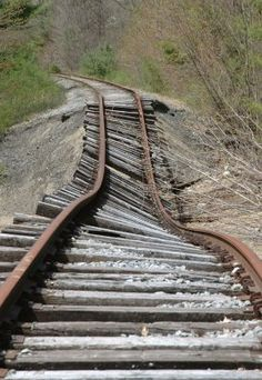♥♥ Sometimes the Path we Follow IS this Challenging!  For MY Tracks Walkin' Partner in ALL Things! ♥♥