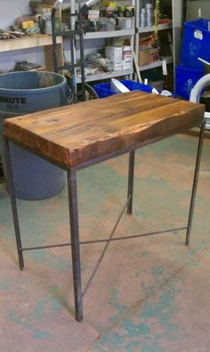 Table With Reclaimed Wood By Philadelphia Salvage Company  Https://www.facebook.
