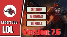 LOL Esport - KT Score Playing Graves Solo Jungle In Challenger Korean[3-...