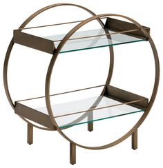 Art Deco Living Room, Glass Shelves, Side Tables, Mid Century, Bronze, Cat, Places, House, Inspiration